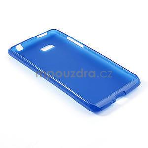 Gélové matné puzdro pre HTC Desire 600- modré - 4