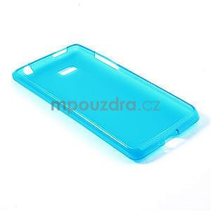 Gélové matné puzdro pre HTC Desire 600- svetlo modré - 4