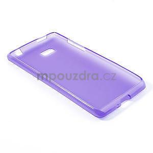 Gélové matné puzdro pre HTC Desire 600- fialové - 4
