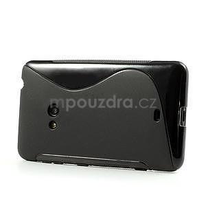 Gélové S-line puzdro pre Nokia Lumia 625- čierné - 4