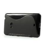 Gélové S-line puzdro pre Nokia Lumia 625- čierné - 4/6