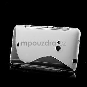 Gélové S-line puzdro pre Nokia Lumia 625- transparentný - 4