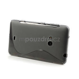Gélové S-line puzdro pre Nokia Lumia 625- sivé - 4