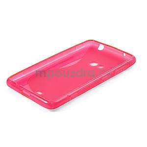 Gélové S-line puzdro pre Nokia Lumia 625- ružové - 4
