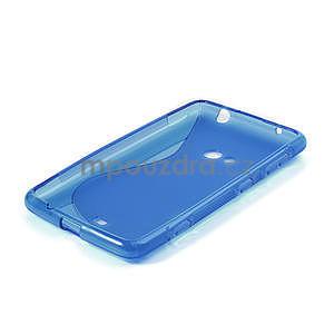 Gélové S-line puzdro pre Nokia Lumia 625- modré - 4