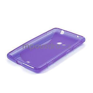 Gélové S-line puzdro pre Nokia Lumia 625- fialové - 4