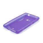 Gélové S-line puzdro pre Nokia Lumia 625- fialové - 4/6