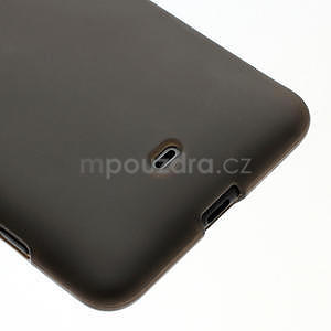 Gélové matné puzdro pre Nokia Lumia 625- sivé - 4