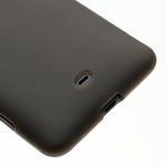 Gélové matné puzdro pre Nokia Lumia 625- sivé - 4/5