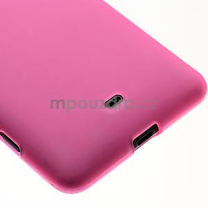 Gélové matné puzdro pre Nokia Lumia 625- ružové - 4
