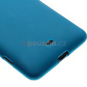 Gélové matné puzdro pre Nokia Lumia 625- svetlo modré - 4
