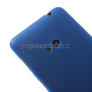 Gélové matné puzdro pre Nokia Lumia 625- modré - 4