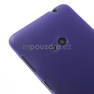 Gélové matné puzdro pre Nokia Lumia 625- fialové - 4