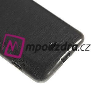 Gélové kartáčové puzdro na Nokia Lumia 625 - šedé - 4