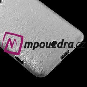 Gélové kartáčové puzdro na Nokia Lumia 625 - biele - 4
