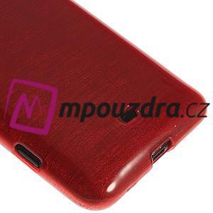 Gélové kartáčové puzdro na Nokia Lumia 625 - červené - 4