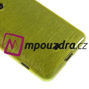 Gélové kartáčové puzdro na Nokia Lumia 625 - zelené - 4