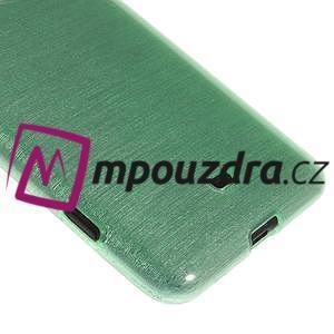 Gélové kartáčové puzdro na Nokia Lumia 625 - cyan - 4