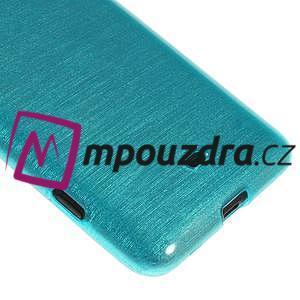 Gélové kartáčové puzdro na Nokia Lumia 625 - modré - 4