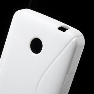 Gélové S-line puzdro na Nokia Lumia 630- biele - 4