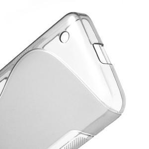 Gélové S-line puzdro na Nokia Lumia 630- sivé - 4