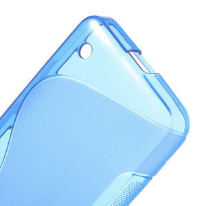 Gélové S-line puzdro na Nokia Lumia 630- modré - 4