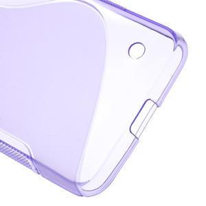 Gélové S-line puzdro na Nokia Lumia 630- fialové - 4