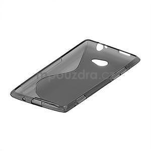 Gélové S-line puzdro pre HTC Windows phone 8X- šedé - 4