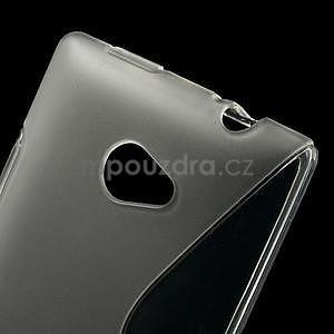 Gélové S-line puzdro pre HTC Windows phone 8X- transparentný - 4