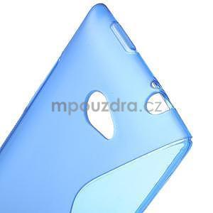 Gélové S-line puzdro pre HTC Windows phone 8X- modré - 4
