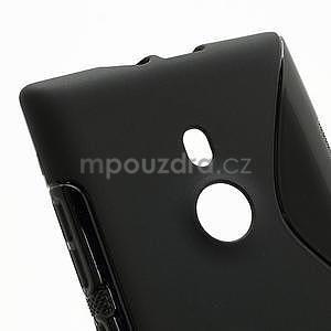 Gélové S-liné puzdro pre Nokia Lumia 925- čierné - 4