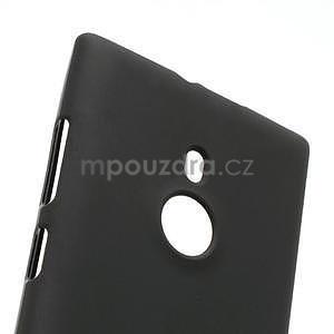 Gélové matné puzdro pre Nokia Lumia 925- čierné - 4