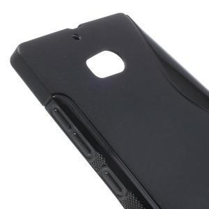 Gélové S-line puzdro na Nokia Lumia 930- čierné - 4