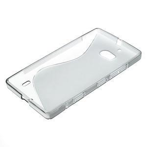 Gélové S-line puzdro na Nokia Lumia 930- sivé - 4