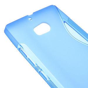 Gélové S-line puzdro na Nokia Lumia 930- modré - 4