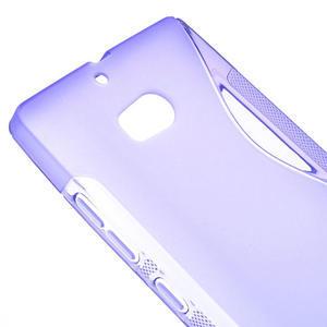 Gélové S-line puzdro na Nokia Lumia 930- fialové - 4