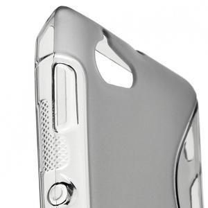 Gélové S-line puzdro na Sony Xperia L C2105- šedé - 4