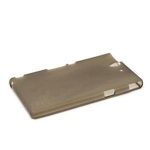 Gélové puzdro pre Sony Xperia Z L36i C6603- sivé - 4