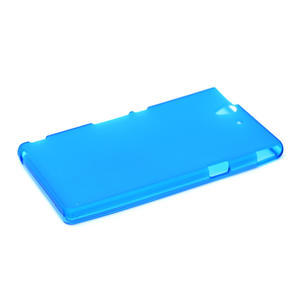 Gélové puzdro na Sony Xperia Z L36i C6603- modré - 4