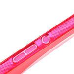 Gélové S-line puzdro pre Sony Xperia Z ultra- ružové - 4/5