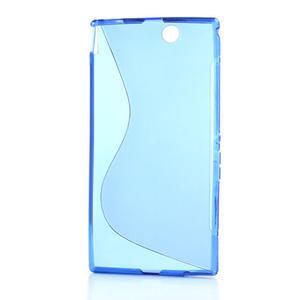 Gélové S-line puzdro pre Sony Xperia Z ultra- modré - 4