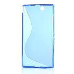 Gélové S-line puzdro pre Sony Xperia Z ultra- modré - 4/4