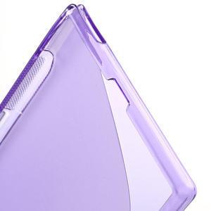 Gélové S-line puzdro pre Sony Xperia Z ultra- fialové - 4