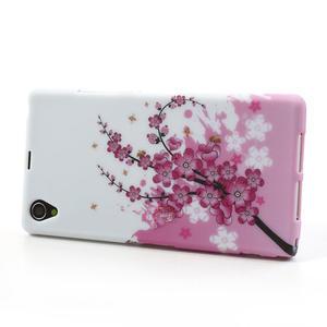 Gélové puzdro pre Sony Xperia Z1 C6903 L39- kvitnúce vetvička - 4