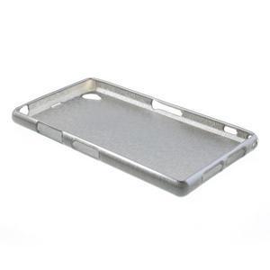 Kartáčované puzdro pre Sony Xperia Z1 C6903 L39- sivé - 4