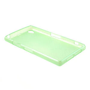 Kartáčované pouzdro na Sony Xperia Z1 C6903 L39- zelenmodré - 4
