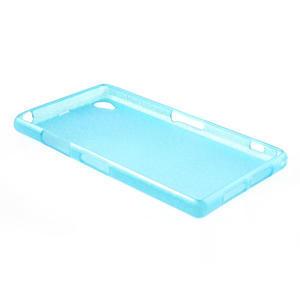 Kartáčované puzdro pre Sony Xperia Z1 C6903 L39- modré - 4