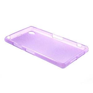 Kartáčované puzdro pre Sony Xperia Z1 C6903 L39- fialové - 4
