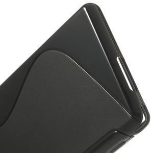 Gélové S-line puzdro na Sony Xperia M2 D2302- čierné - 4