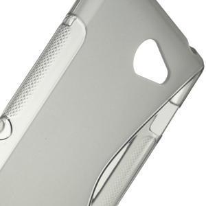 Gélové S-line puzdro na Sony Xperia M2 D2302- šedé - 4
